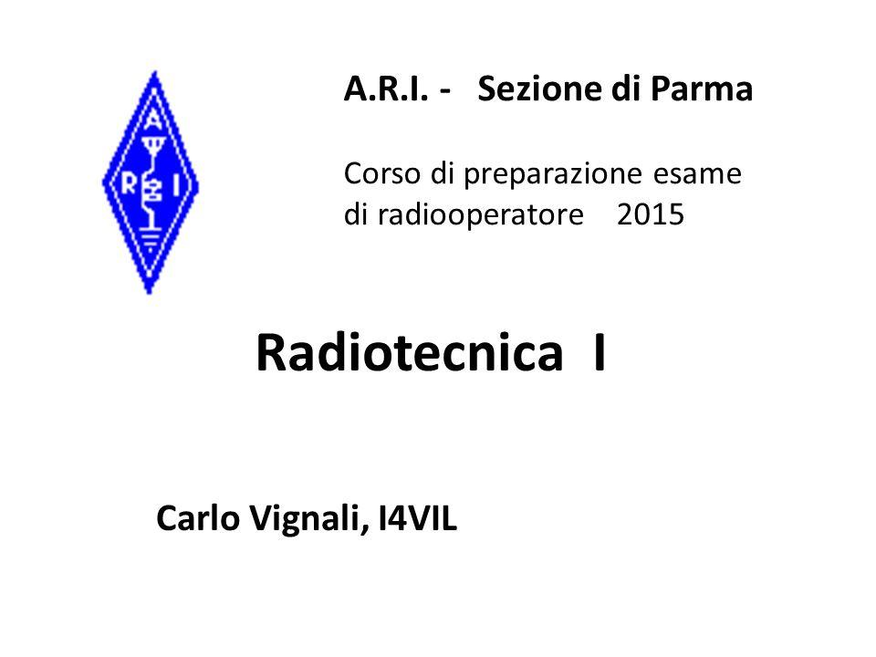 Radiotecnica I Carlo Vignali, I4VIL A.R.I.