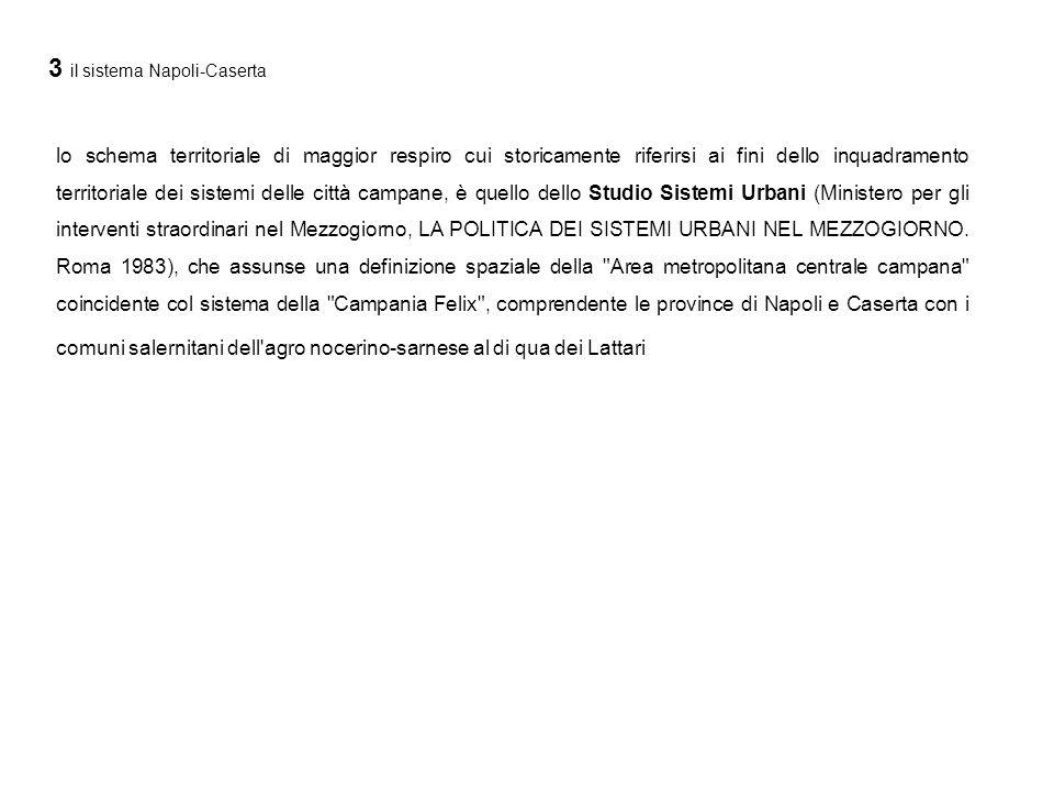Localizzazione delle aree lacustri artificiali nel comune di Castelvolturno (elaborazione da fonti ARPAC)