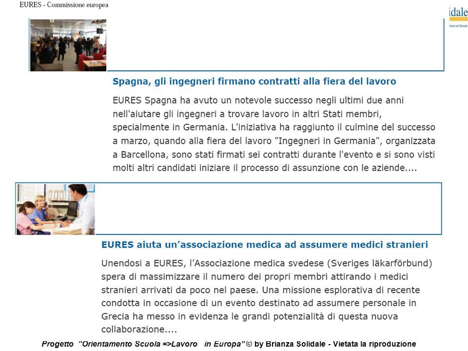 """24 Progetto """"Orientamento Scuola =>Lavoro in Europa"""" © by Brianza Solidale - Vietata la riproduzione"""