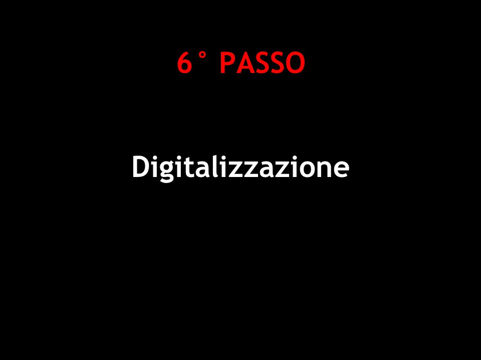 6° PASSO Digitalizzazione Deborah Gemin - Social Software e Web 2.0 per la didattica