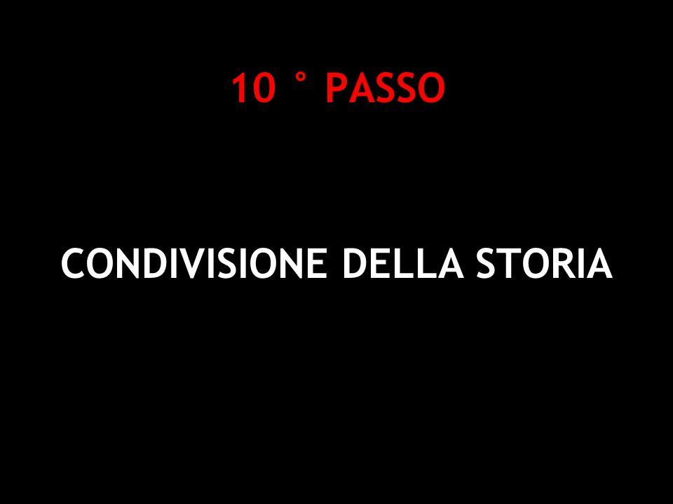 10 ° PASSO CONDIVISIONE DELLA STORIA Deborah Gemin - Social Software e Web 2.0 per la didattica