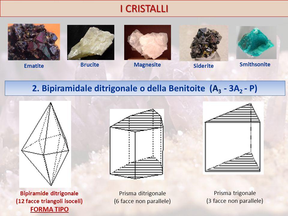 I CRISTALLI Ematite Brucite Magnesite Siderite Smithsonite 2.