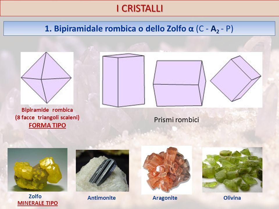 I CRISTALLI 1.