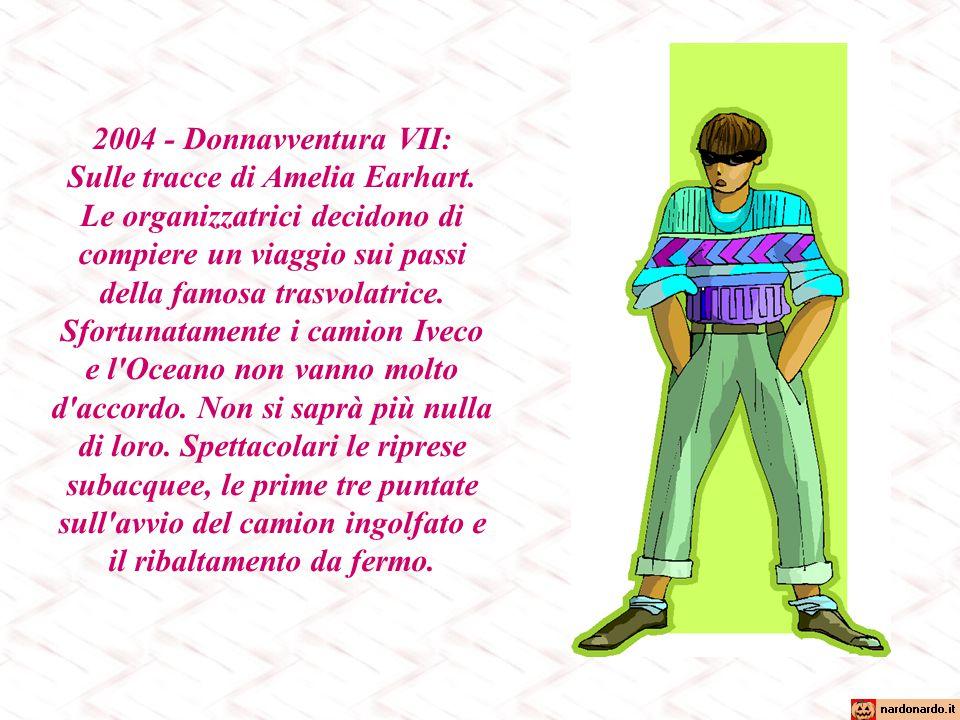 2003 - Donnavventura VI: Italia e Polinesia.