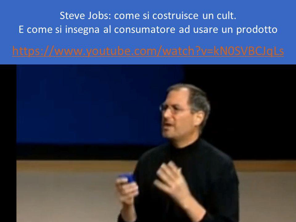 Steve Jobs: come si costruisce un cult.