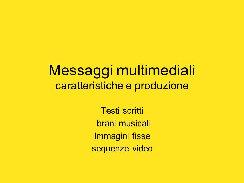 Testi e messaggi scritti Programmi dedicati: word,power point, excel,.