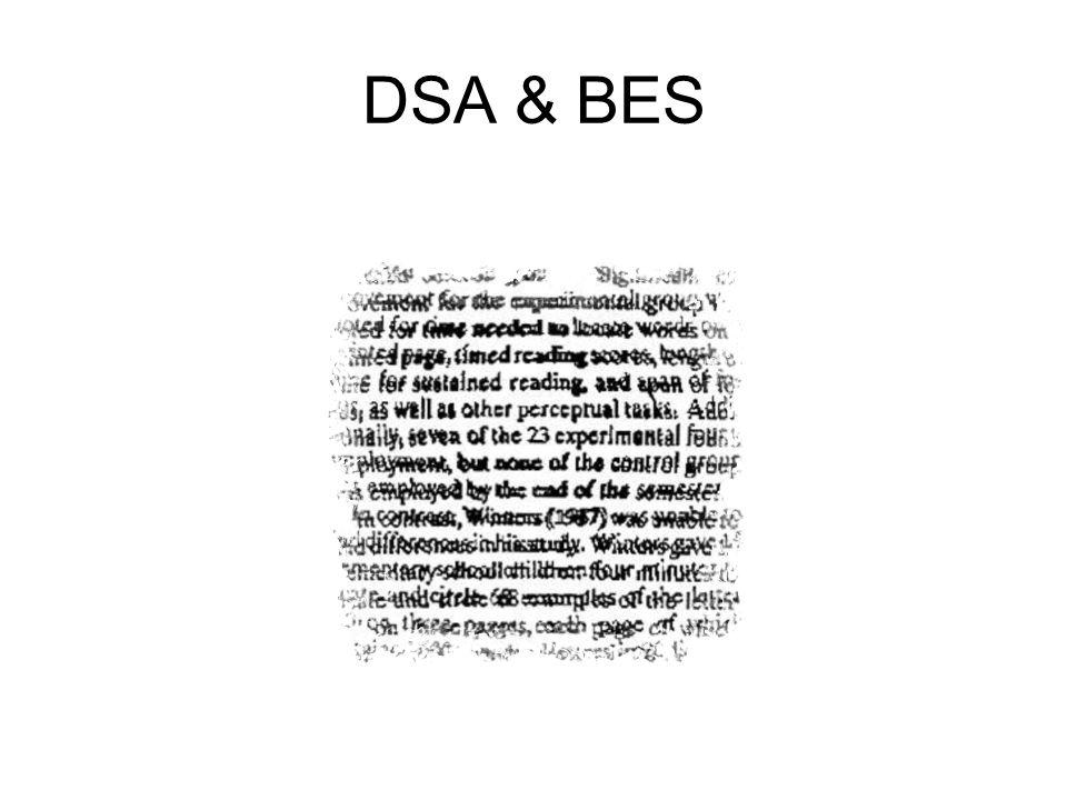 DSA & BES
