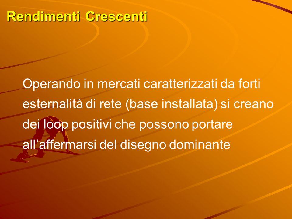 Vantaggi della Prima Mossa Esempi  Tecnologia UMTS in Italia  Christopher Sholes (1867) e la tastiera QWERTY  Intel e IBM  Diesel