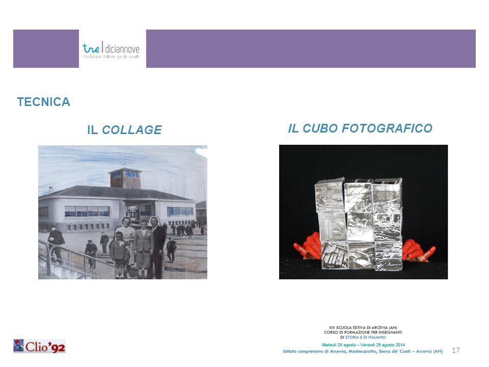 17 TECNICA IL COLLAGE IL CUBO FOTOGRAFICO