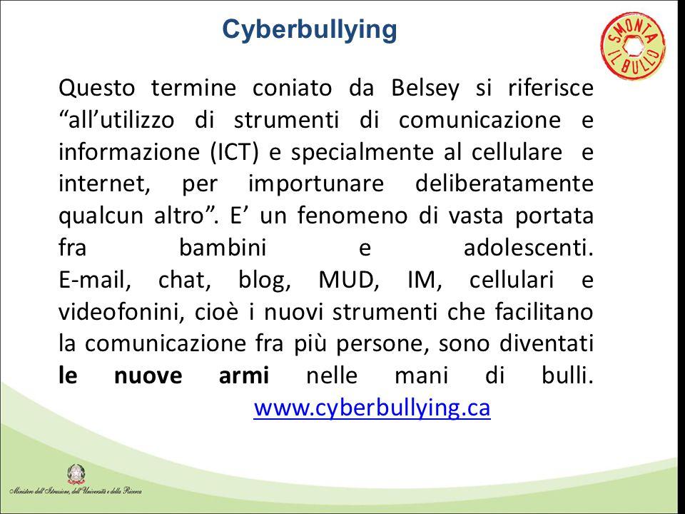 """Questo termine coniato da Belsey si riferisce """"all'utilizzo di strumenti di comunicazione e informazione (ICT) e specialmente al cellulare e internet,"""