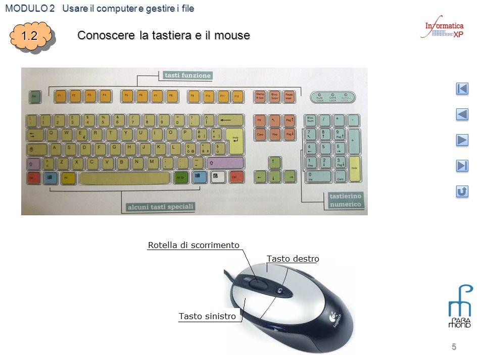 MODULO 2 Usare il computer e gestire i file 6 1.31.3 Impostazione desktop e verifica caratteristiche Icone Sfondo Pulsante Start Barra avvio veloce Barra delle applicazioni Programmi ridotti a icona Icone di configurazione