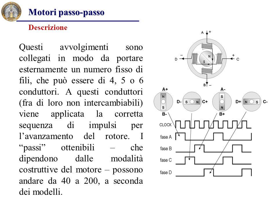 Questi avvolgimenti sono collegati in modo da portare esternamente un numero fisso di fili, che può essere di 4, 5 o 6 conduttori. A questi conduttori
