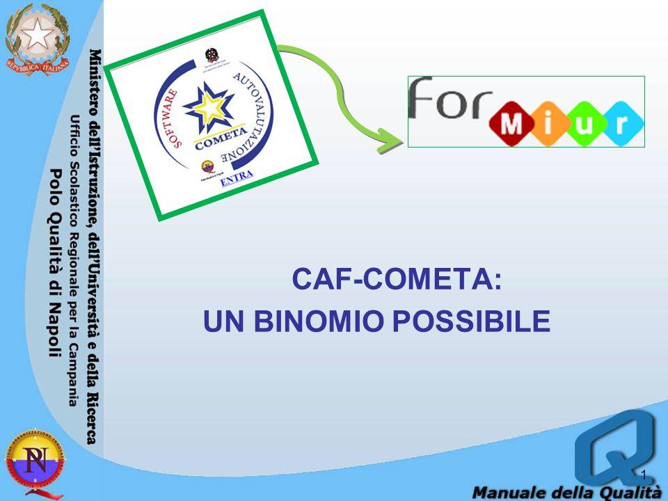 CAF-COMETA: UN BINOMIO POSSIBILE 1