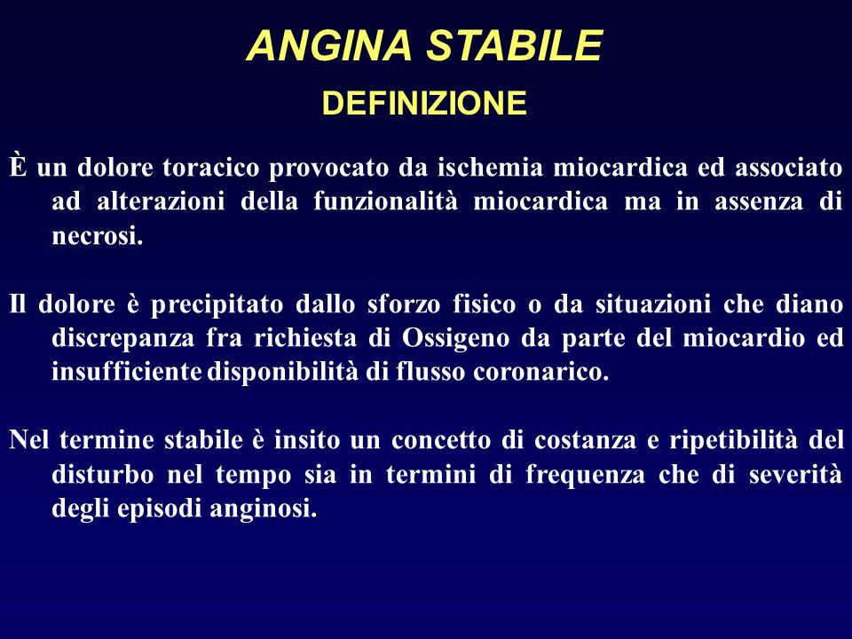 ANGINA INSTABILE TERAPIA EPARINA: per via endovenosa è efficace nei pazienti con angina instabile.