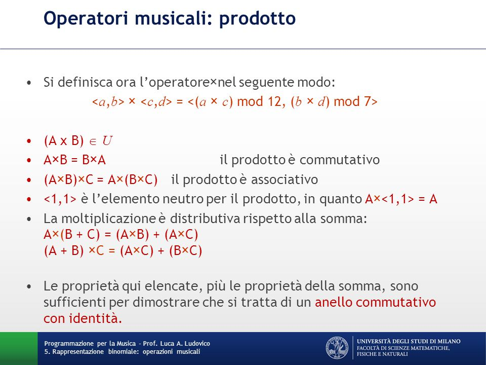 ESEMPI CbrStats.java Il software legge in ingresso una sequenza di valori numerici interi codificati come Continuous Binomial Representation, e calcola: la frequenza (espressa in Hz) del pitch più acuto la frequenza (espressa in Hz) del pitch più grave la frequenza media dei pitch.