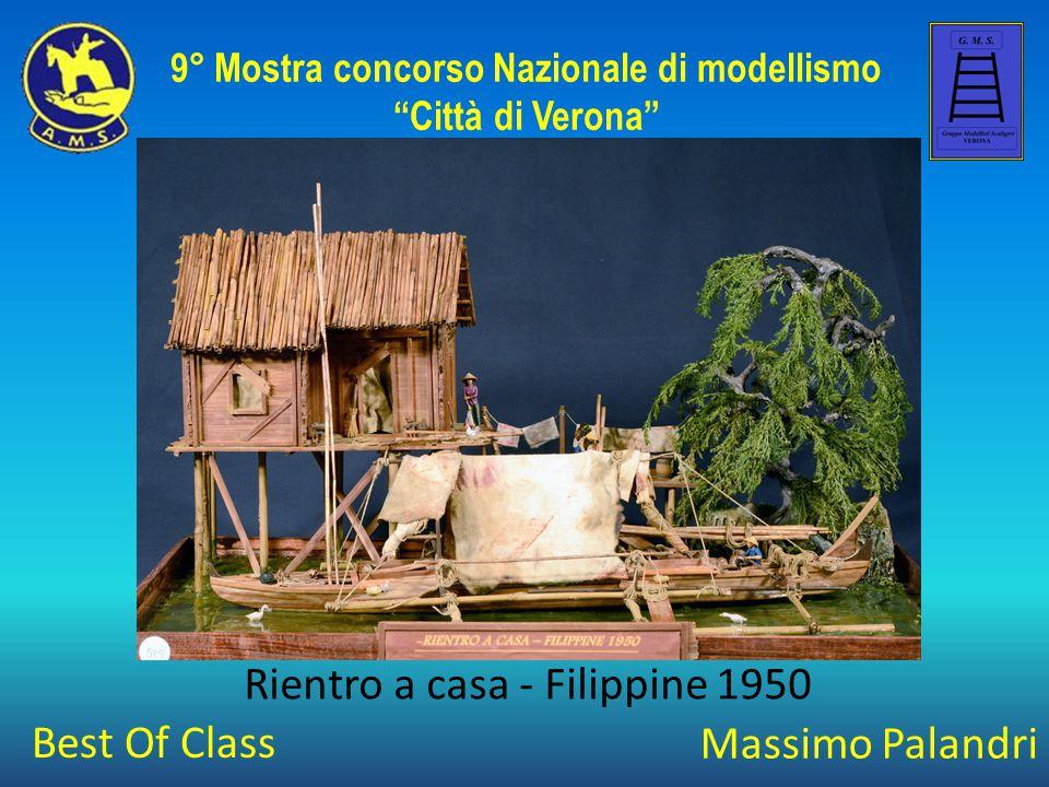 """Massimo Palandri Rientro a casa - Filippine 1950 9° Mostra concorso Nazionale di modellismo """"Città di Verona"""" Best Of Class"""
