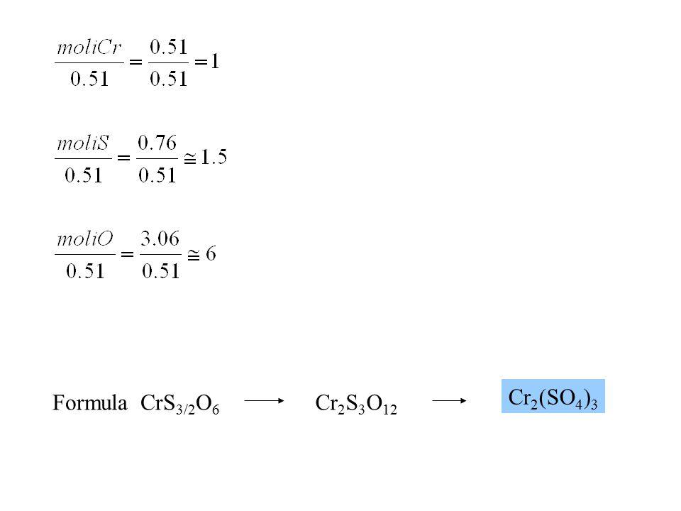 D1-8 Viene bruciato completamente un campione di 1.500 g di un composto che contiene solo C, H e O.