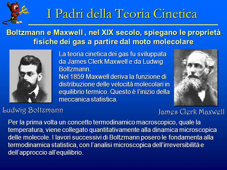 Teoria Cinetica dei Gas IPOTESI della teoria cinetica dei gas: IPOTESI della teoria cinetica dei gas:  Il volume occupato dalle molecole e' trascurabile rispetto al volume occupato dal gas.