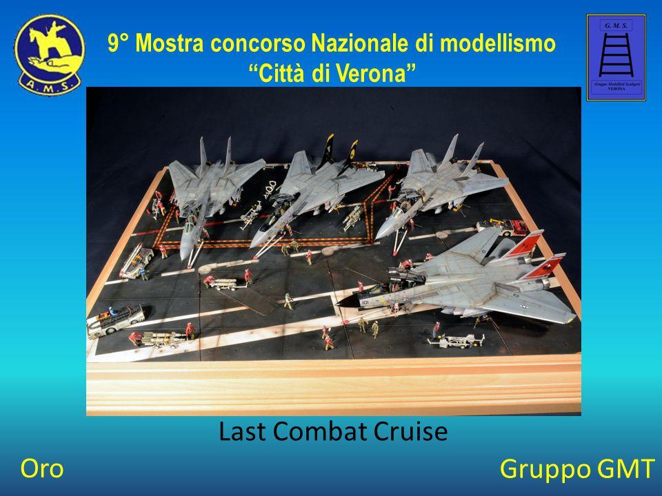 """Gruppo GMT Last Combat Cruise 9° Mostra concorso Nazionale di modellismo """"Città di Verona"""" Oro"""