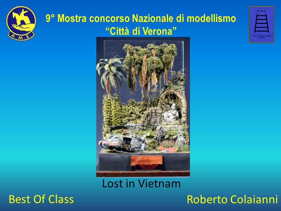 """Roberto Colaianni Lost in Vietnam 9° Mostra concorso Nazionale di modellismo """"Città di Verona"""" Best Of Class"""