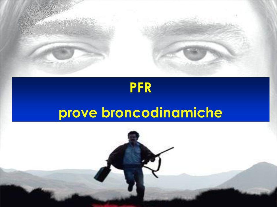 PFR prove broncodinamiche