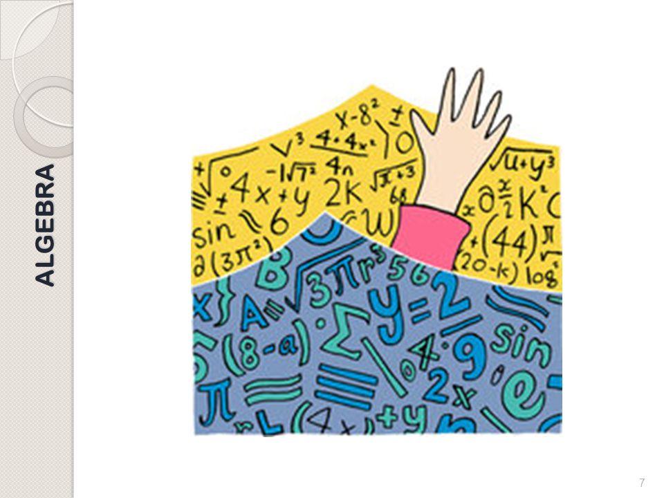 6 ALGEBRA Algebra: perché è necessaria? Tutti sono convinti dell'importanza del calcolo algebrico. E' il linguaggio delle matematica, che a sua volta