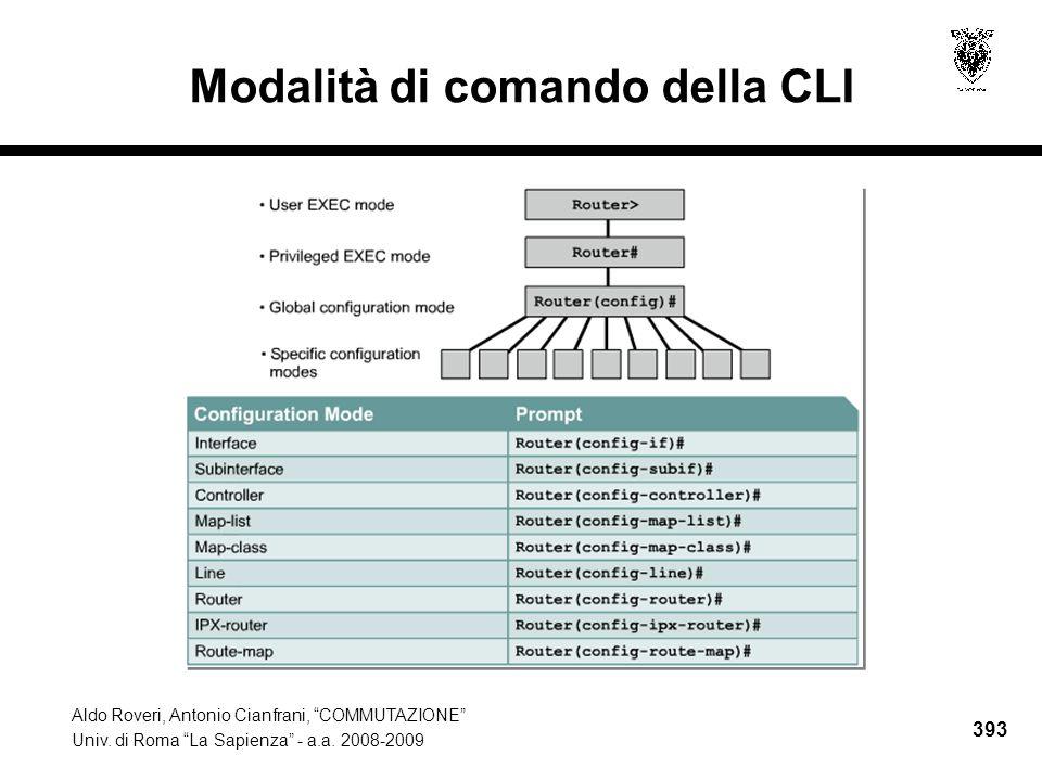 Aldo Roveri, Antonio Cianfrani, COMMUTAZIONE Univ.