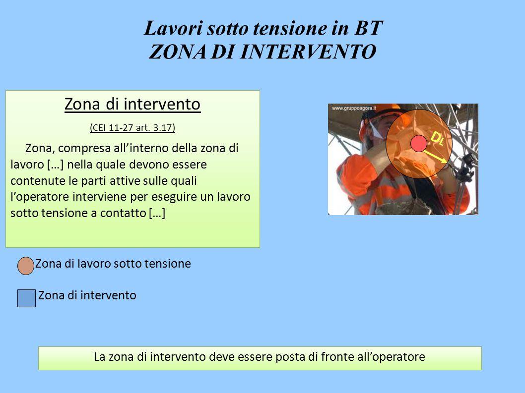 Zona di intervento (CEI 11-27 art.