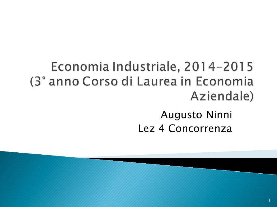 Augusto Ninni Lez 4 Concorrenza 1