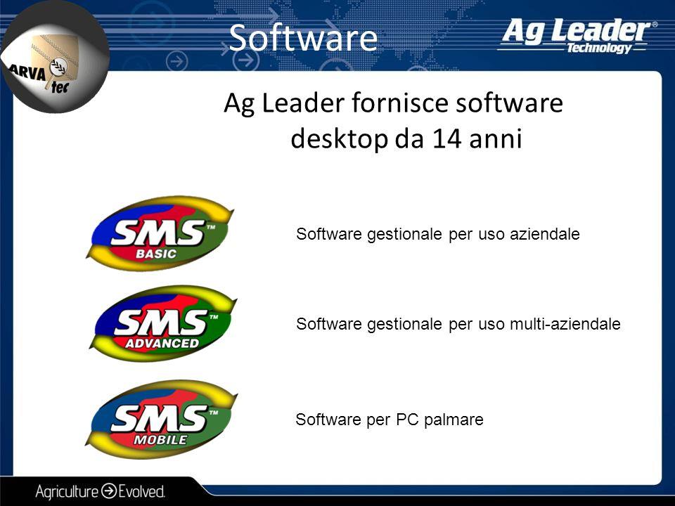 Software Software gestionale per uso aziendale Software gestionale per uso multi-aziendale Software per PC palmare Ag Leader fornisce software desktop