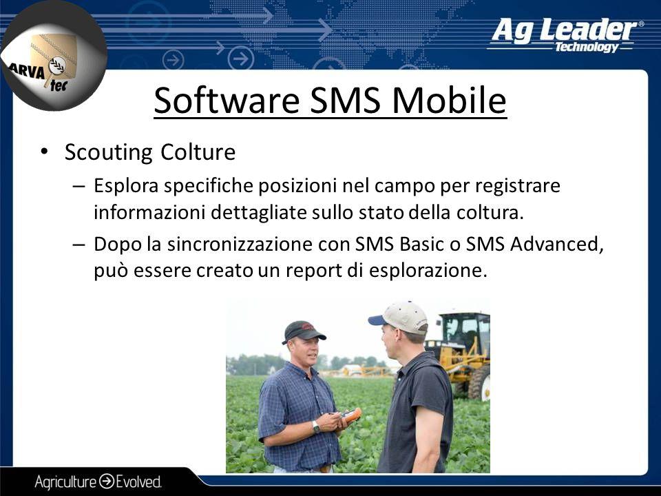Scouting Colture – Esplora specifiche posizioni nel campo per registrare informazioni dettagliate sullo stato della coltura. – Dopo la sincronizzazion