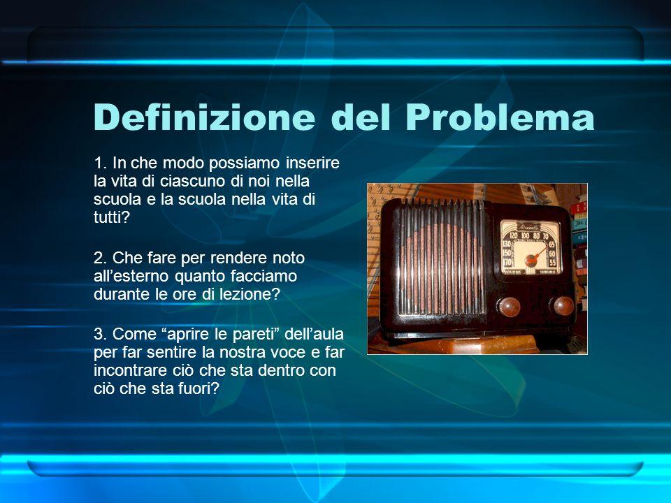 Definizione del Problema 1.