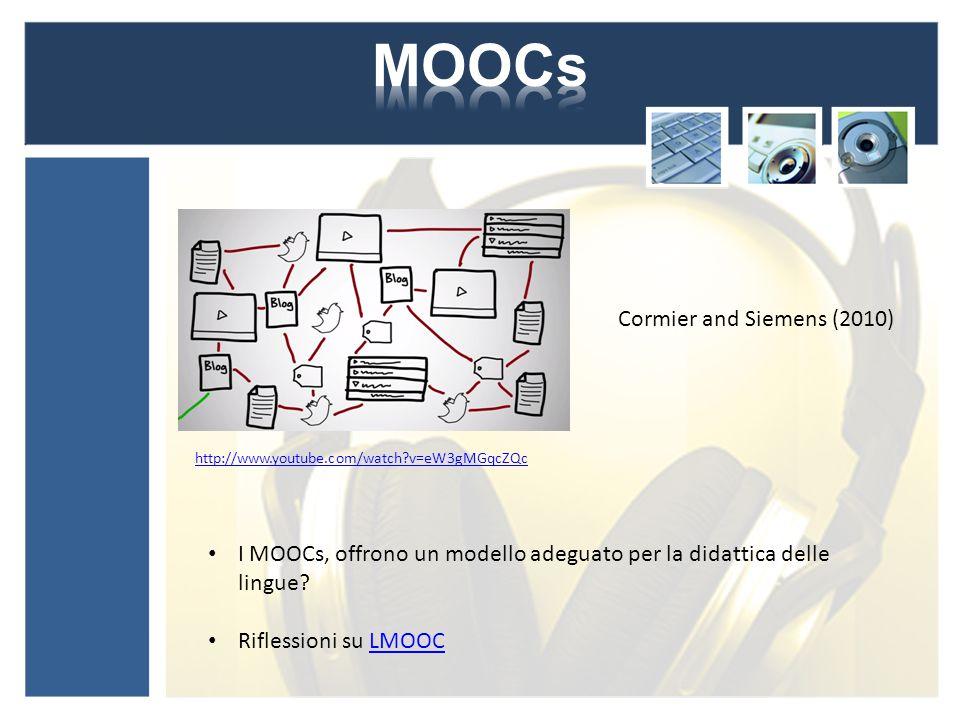 I MOOCs, offrono un modello adeguato per la didattica delle lingue.