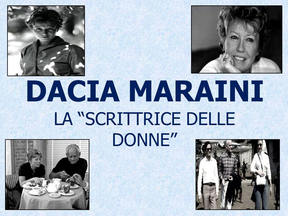 DACIA MARAINI LA SCRITTRICE DELLE DONNE