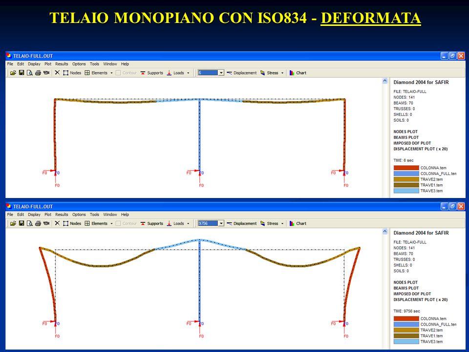 20 Prof. Ing. E. Nigro TELAIO MONOPIANO CON ISO834 - DEFORMATA Emidio Nigro