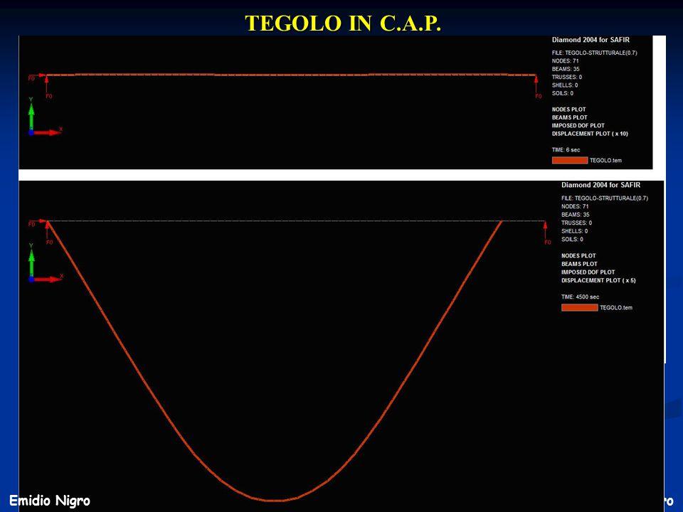 45 Prof. Ing. E. Nigro TEGOLO IN C.A.P. Emidio Nigro
