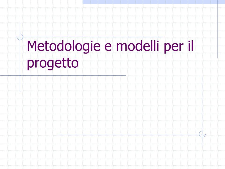 Metodologie e modelli per il progetto