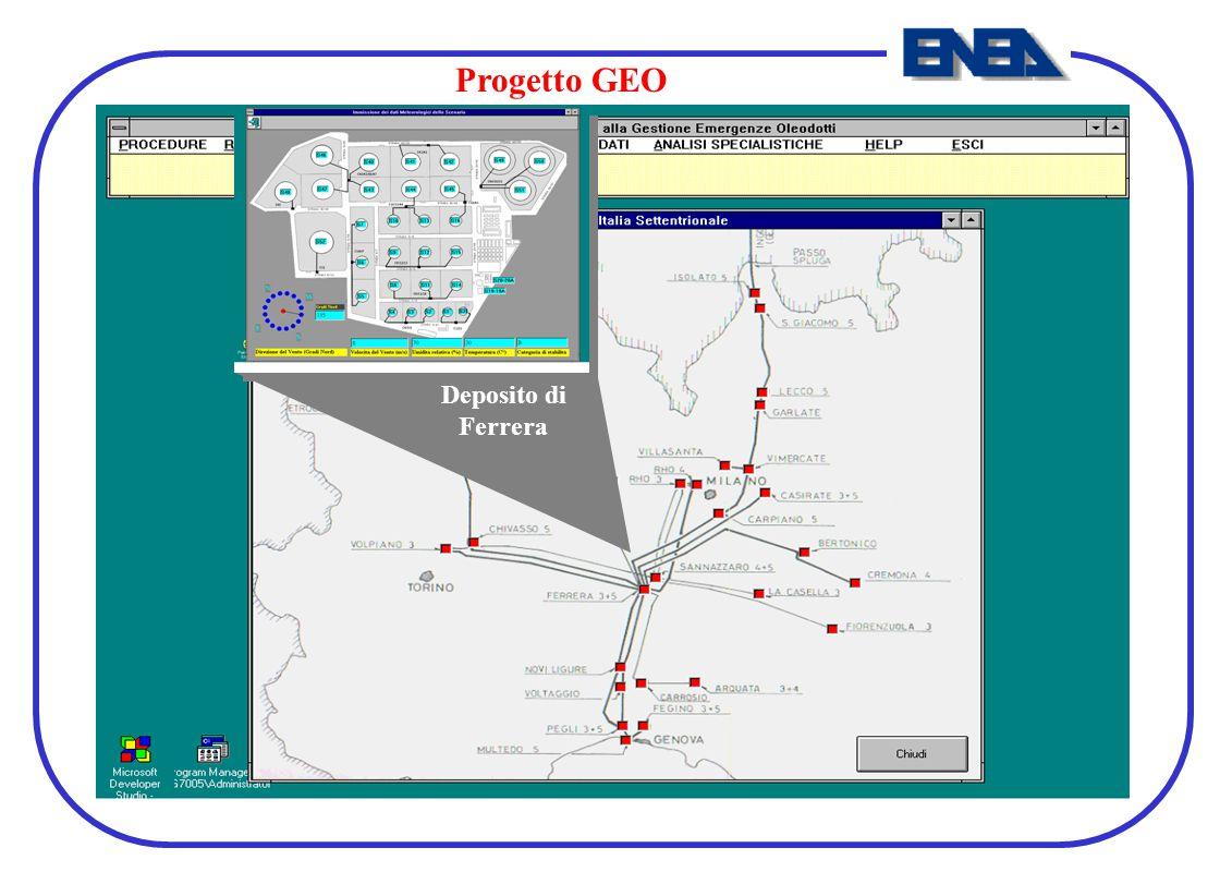 Deposito di Ferrera Progetto GEO