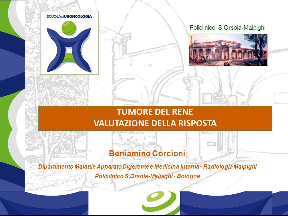 Caso clinico 7 Nefrectomia Dx per ca cellule chiare nel 2008 in terapia con Sunitinib dopo 4 cicli