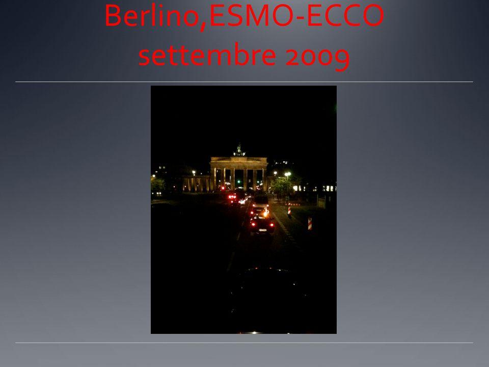 Berlino,ESMO-ECCO settembre 2009