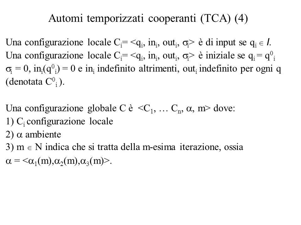 Risultati di espressività (3)  Sia TCA I un TCA con soli stati di input.