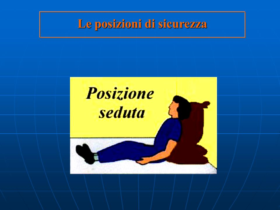 insufficienza respiratoria Nel soggetto vittima di insufficienza respiratoriacosciente posizione semiseduta 118 si farà mettere il paziente in posizio
