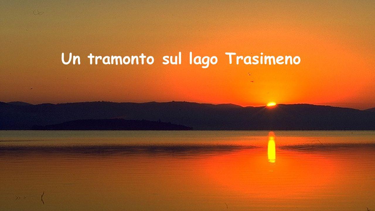Lago Trasimeno Il lago Trasimeno ha una superficie di 128 km², è il più esteso lago dell'Italia centrale, quarto tra i laghi italiani subito dopo il l