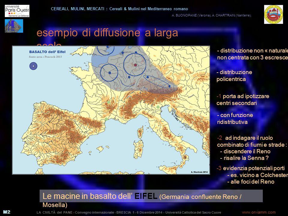 M2 esempio di diffusione a larga scala A.BUONOPANE (Verona), A.