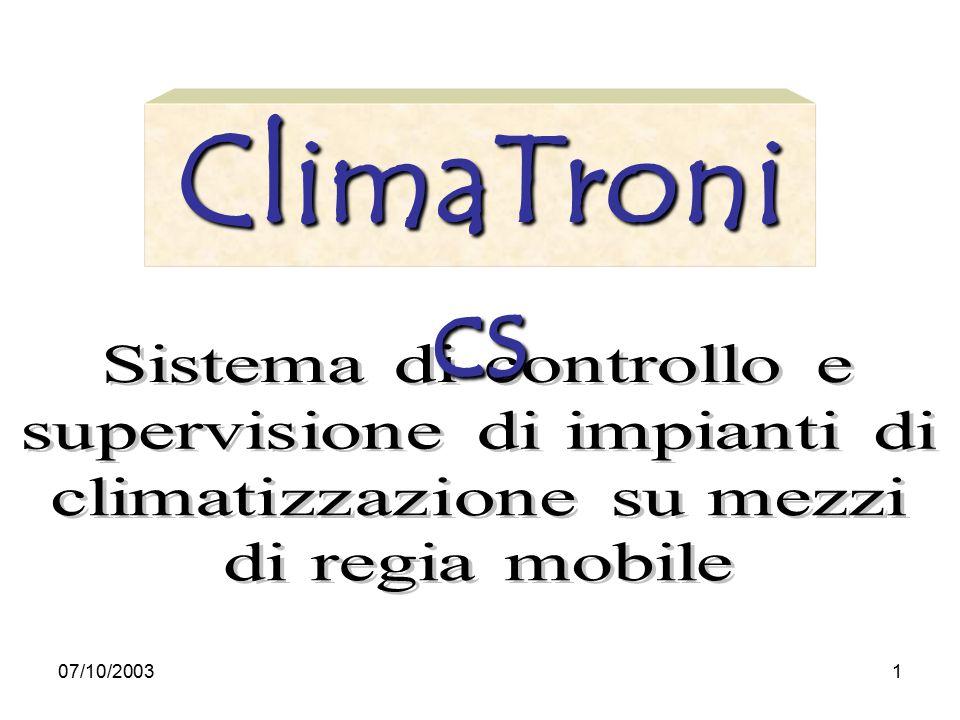 07/10/20031 ClimaTroni cs