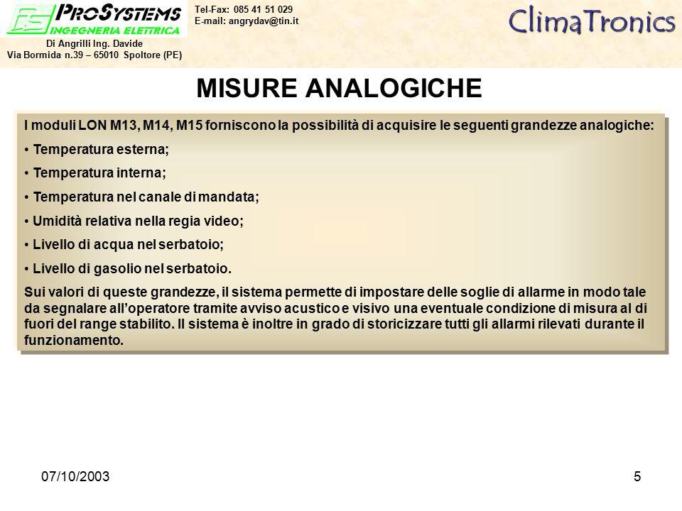 07/10/20035ClimaTronics Di Angrilli Ing.