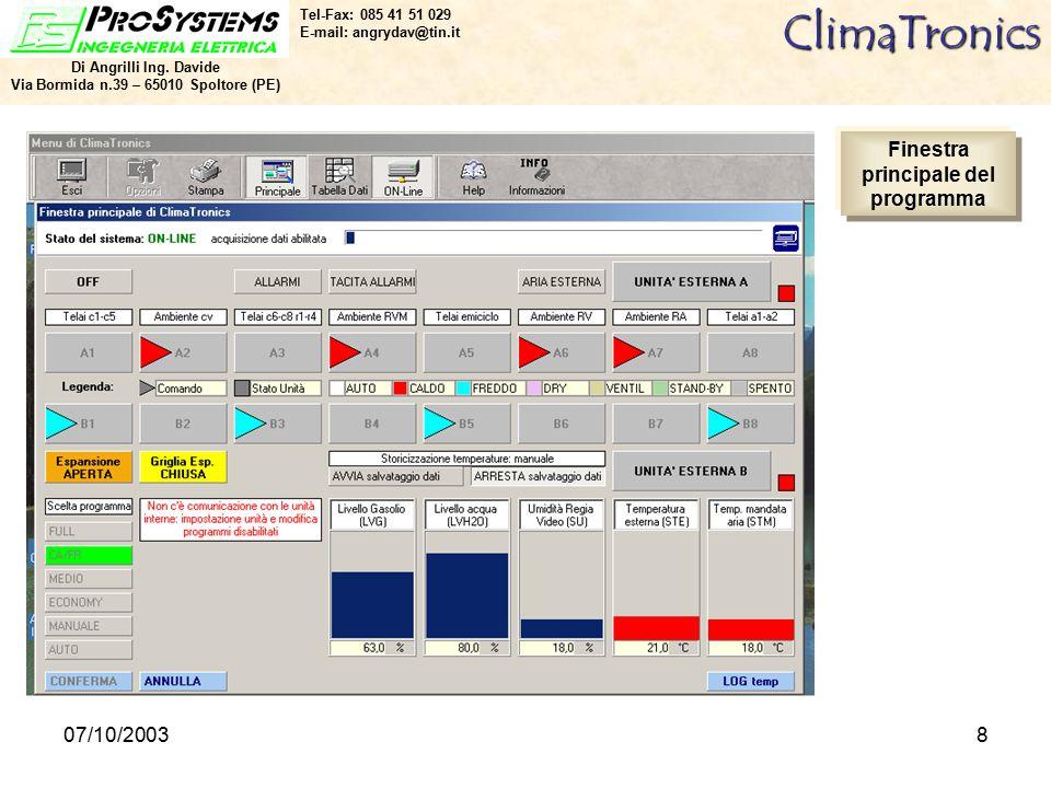 07/10/20038ClimaTronics Di Angrilli Ing.