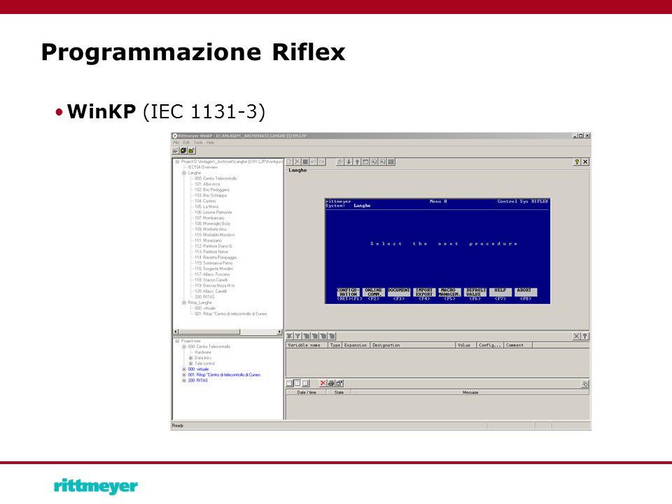Programmazione Riflex WinKP (IEC 1131-3)