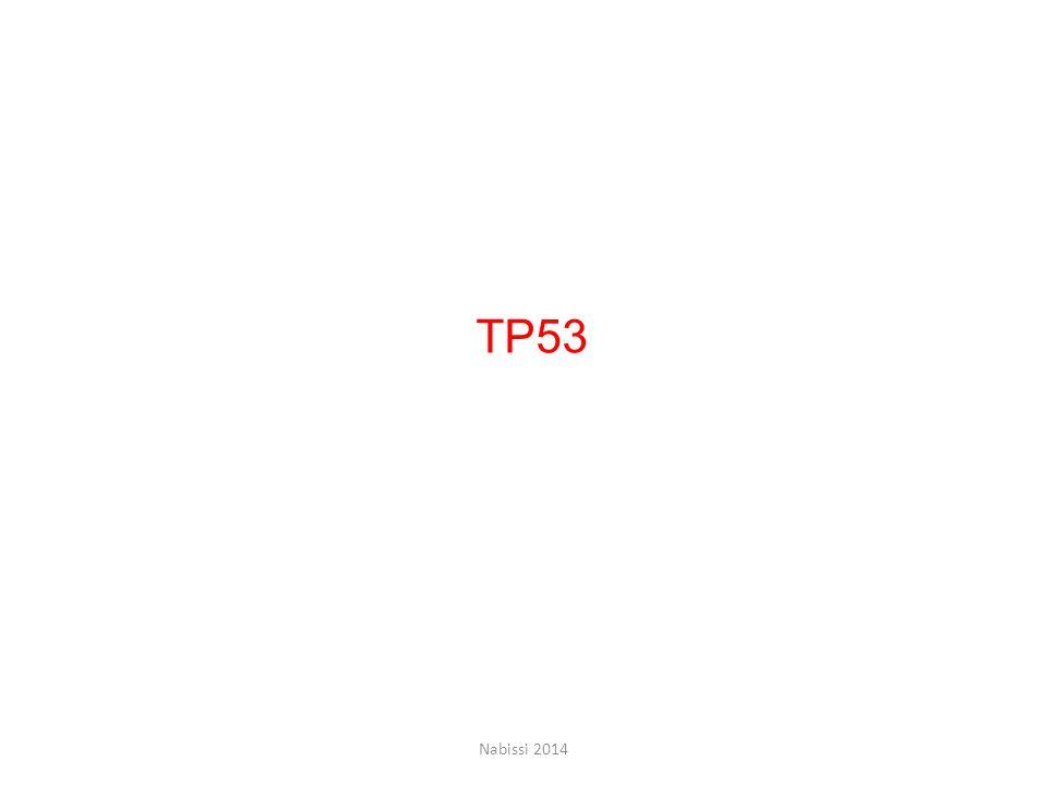 TP53 Nabissi 2014