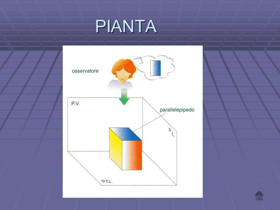 SIGLE DEI PIANI P.O. Piano orizzontale P.V. Piano verticale P.L. Piano laterale L.T. Linea terra
